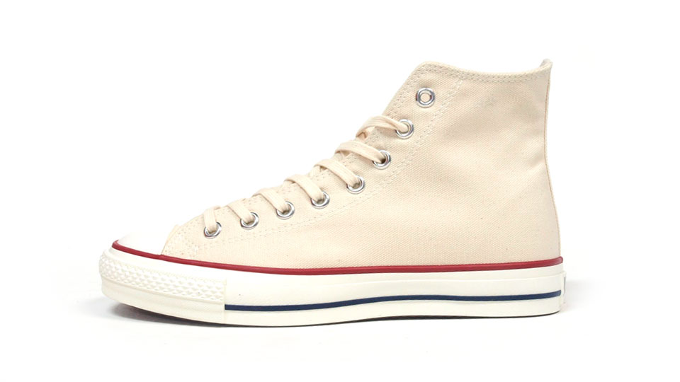 "CANVAS ALL STAR J HI ""made in JAPAN"""